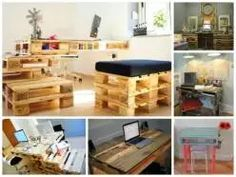 25+ Genius Ways of Reusing Pallet into Design & Practical Desks