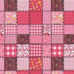 """""""Patch Floral"""" rosa"""