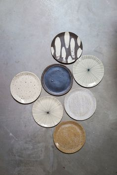 trays and domes made by brooklyn based ceramicist re jin lee of bailey doesn't bark - love the color scheme Ceramic Tableware, Ceramic Pottery, Ceramic Art, Kitchenware, Plates And Bowls, Stoneware, Earthenware, Dinnerware, Clay