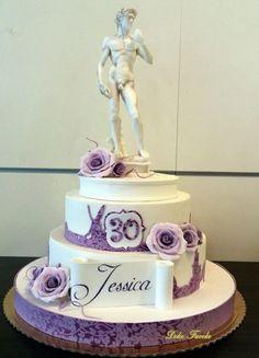 Michelangelo's David cake - Cake by simonelopezartist