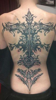 Mechanical back piece