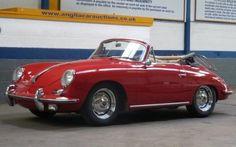 Classic Porsche 356s auction for $96,000 apiece