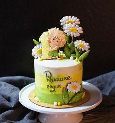 В этот шикарный зимний день шокирую вас таким вот летним-прилетним тортиком 😄😁🌻 Маленький Рома обожает мультик про Антошку (того, который…