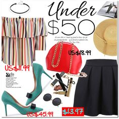 Skirts Under $50 by oshint on Polyvore featuring moda