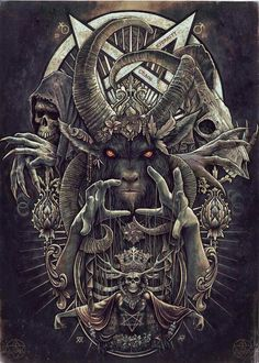 Demonic emblem,