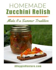 Homemade Zucchini Relish ♥ AVeggieVenture.com, a perfect way to use up giant zucchini from the garden. Zucchini Relish Recipes, Vegetable Recipes, Slow Roasted Tomatoes, Cranberry Chutney, Tomato Relish, Homemade Pickles, Vegetable Seasoning, Whole 30 Recipes, Low Carb Recipes