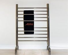 Modern Italian Classic 24 X 38 In Polished Freestanding Towel Warmer Rfsp-24 by Italian Towel Warmers. $249.99. Amba's products with hardware products made in Germany and Towel Warmer elements made in Italy are of long lasting 100% stainless steel (304) offered in different finishes including polished and brushed stainless steel, white and oil rubbed bronze.