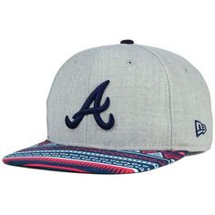 New Era Atlanta Braves Neon Mashup 9FIFTY Snapback Cap ( 32) ❤ liked on  Polyvore 64e93d246ea7