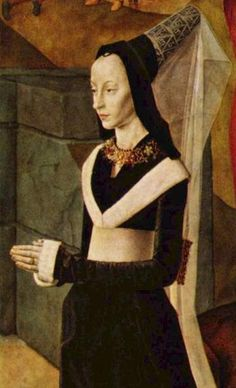 Portinari Triptych (detail), 1476-1478. Hugo van der Goes