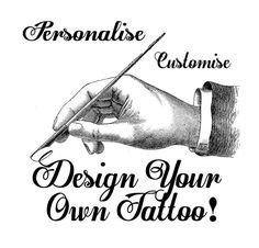 design your own tattoo online | custom tattoo designs | Pinterest ...