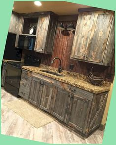 Defined, rustic design is a design emphasis on rugged, natural appeal. ... #kitcheninspo #designlovers #kuhija...
