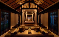 One-Bedroom Villa. The Nam Hai, Hoi An, Vietnam. © GHM Hotels