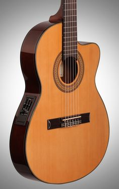 Ibanez GA5TCE Classical Cutaway Acoustic-Electric Guitar