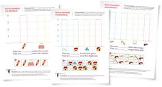 Free worksheets and activity suggestions to teach your child how to create and read pictographs, an important kindergarten math activity Kindergarten Math Activities, Fun Math, Teaching Math, Teaching Resources, Teaching Ideas, Life Skills Classroom, Classroom Ideas, First Grade Math, Grade 2