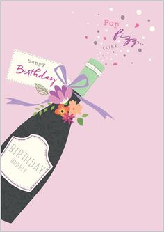 Card Ranges » 7992 » Birthday Fizz - Abacus Cards - Greetings Cards, Gift Wrap & Stationery