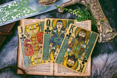Arthurian - Holy Grail Edition 1 Thessalonians 4, Legend Of King, Minding Your Own Business, Book Of Kells, Cartomancy, Modern Times, King Arthur, Hand Illustration, Deck Of Cards
