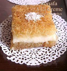 Gâteau égyptien : konafa. #egyptiancake#Riham2222222