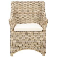 I pinned this Mollie Arm Chair in Brown from the Tropical Oasis event at Joss and Main!