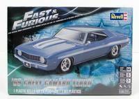 Fast & Furious 1969 Chevy Camaro Yenko Revell 85-4314 1/25 New Car Model Kit - Shore Line Hobby