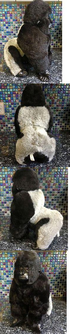 FAO Schwarz 95266: Xl 20 Fao Schwarz Silverback Mountain Gorilla Monkey Ape Plush Stuffed Soft Toy -> BUY IT NOW ONLY: $79.99 on eBay!