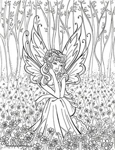 Warrior Angel Coloring page Adult Christian Color Scripture