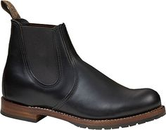 Red Wing Beckman Chelsea - Black Featherstone Leather with FREE Shipping & Exchanges. Part of the Beckman collection, the 2929 is a Chelsea boot made from our premium black Featherstone