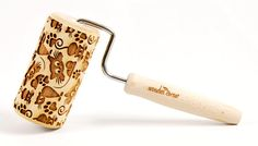 CATS ROLLING PIN No. 6 MIDI Embossing rolling pin Engraved rolling pin Funny cats