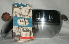 VINTAGE PENGUIN WEST BEND INSULATED HOT AND COLD SERVER
