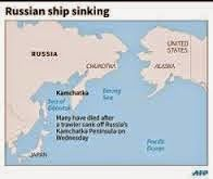 At least 54 dead as Russian trawler with 132 aboard sinks in Sea of Okhtosk