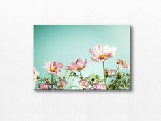 flower photography canvas print floral canvas by mylittlepixels