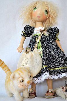 Куклы тильды коты приколы - d37