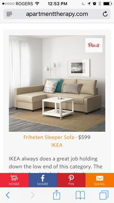 ikea friheten sleeper seat wstorage skiftebo beige this sofa converts quickly and easily into a spacious bed when you remove the back cushions and