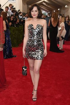 Met Ball 2015: Dakota Johnson in Chanel http://thestir.cafemom.com/beauty_style/185591/14_met_ball_2105_gowns