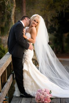 Bride and Groom at University Park Country Club, University Park, FL #playgolfsarasota
