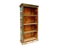 Librería en madera de teca reciclada Thums up - alto 180 cm