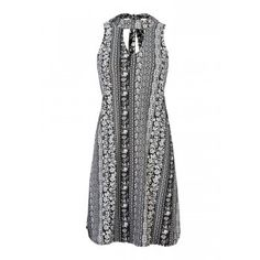 RAZZLE DAZZLE Mock Choker A-Line Dress