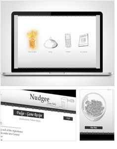 MD-Studios - Interactive - Nudgee - by Hannelien Pretorius 3d Design, Print Design, Creative Thinking, Design Agency, Web Development, Studios, Recipies, Interior Decorating, Recipes