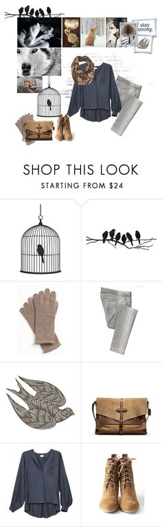 """Like a bird in cage...."" by flyaway-23 ❤ liked on Polyvore featuring Nordstrom, McQ by Alexander McQueen, Coach, H&M and Blowfish"