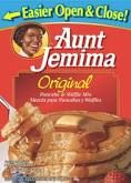 Aunt Jemima Original Pancake and Waffle Mix - Create a delicious treat for all the family with the great tasting Aunt Jemima Original Pancake Mix. As a good source of calcium and iron, they make a great breakfast! Why not try them with Aunt Je Tasty Pancakes, Pancakes And Waffles, Best Pancake Mix, Aunt Jemima Pancakes, Original Pancake, Crispy Fried Chicken, Waffle Mix, Yummy Food, The Originals