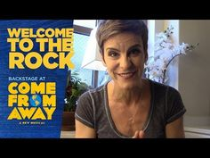 Episode 2: Welcome to the Rock: Backstage at COME FROM AWAY with Jenn Colella - YouTube Come From Away, Get Tickets, The Rock, Welcome, Backstage, Theatre, Musicals, Broadway, Singing