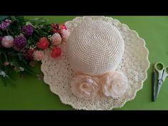 Kâğıt İple Şapka Yapılışı /Kolay Şapka Modeli - YouTube Crochet Wool, Crochet Hats, Dresses Kids Girl, Easter Crafts, Bandana, Women's Accessories, Diy And Crafts, Crochet Patterns, Make It Yourself