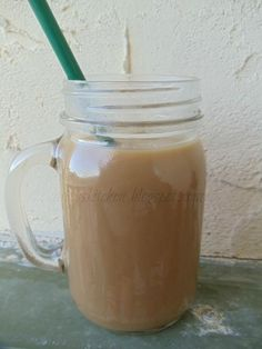 Starbucks French Vanilla Frappuccino.  Ok, this one has the recipe for real.  And her variation