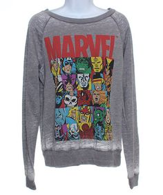 Women #zulilyfinds. MARVEL sweater and small board of other cute sweaters to choose from. :)