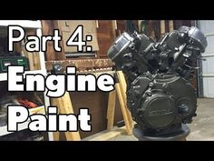 Engine Paint - Honda CX500 - Moto Fugazi Build Part 4 - YouTube