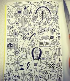 Doodles for math class..