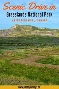 Scenic Drive in Grasslands National Park - Photo Journeys Canada Travel, Canada Tourism, Canada Trip, Cool Places To Visit, Places To Travel, Places To Go, Hiking Routes, Parks Canada, Visit Canada