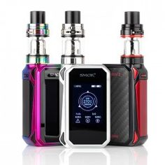 Smok G-Priv 2 Vape Kit comes with the new G-Priv 2 Mod which has a beautiful 2 inch touch screen and powered by dual 18650 battery, also includes the new top airflow X-Baby Tank. Vape Starter Kit, Baby Kit, Smoke Shops, Vape Shop, Apple Watch, Touch, Pure Products, Stuff To Buy, Electronic Cigarettes