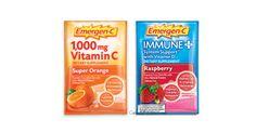 Free Emergen-C Super Orange and Immune+ Vitamin Drink Mix - http://gimmiefreebies.com/free-emergen-c-super-orange-and-immune-vitamin-drink-mix/ #Cold #Coldweather #Flu #Health #Healthiswealth #Healthy #Healthyeating #Healthyfood #Healthylife #Healthylifestyle #Healthyliving #ad