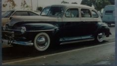 OLDIES, Richards 1948 Plymouth
