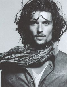 Dutch Model Wouter Peelen by David Sims for the Tru Trussardi Spring Summer 2012 Campaign Long Haired Men, Portraits, Guy Pictures, Well Dressed Men, Male Beauty, Perfect Man, Dark Hair, Gorgeous Men, Male Models